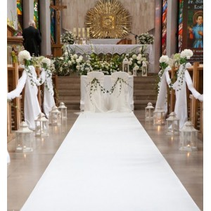 Tappeto per matrimoni bianco 97,60€