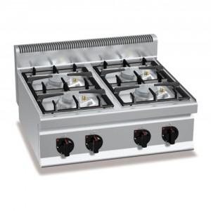 Cucina 4 fuochi da banco a gas 122,00€