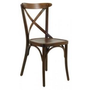 Sedia a croce in legno massello 7,32€