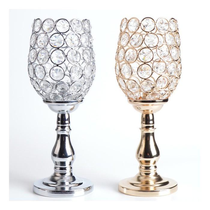 Candeliere basso cristallo e swarovski 12,20€
