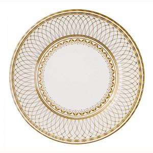 Sottopiatto oro zecchino decorato D-32 12,20€