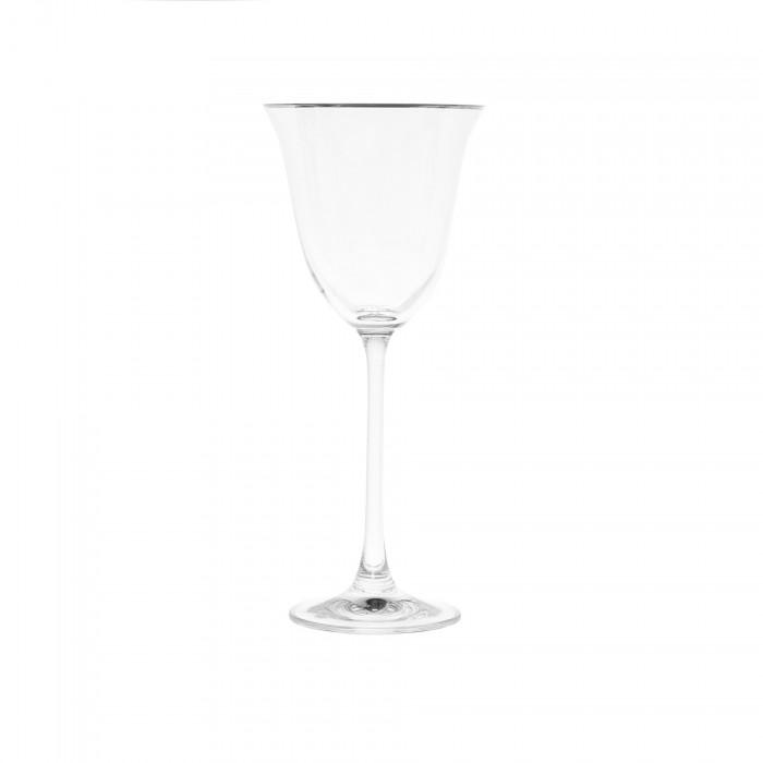 Calice vino filo platino 0,73€