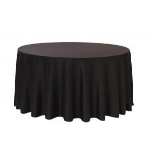 Tovaglia rotonda nera 310cm 24,40€