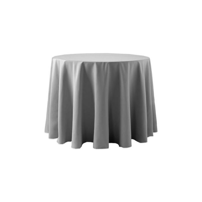 Tovaglia rotonda grigio 310cm 18,30€