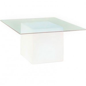Tavolino luminoso con ripiano in vetro 29,28€