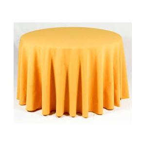 Tovaglia rotonda gialla 310cm 14,64€