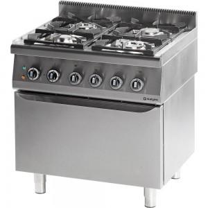Cucina 4 fuochi con forno a gas 549,00€