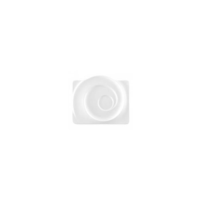 Piatto rettangolare gourmet cono di lumaca 1,22€