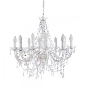 Lampadario in cristallo con svarowski 14 candele 183,00€