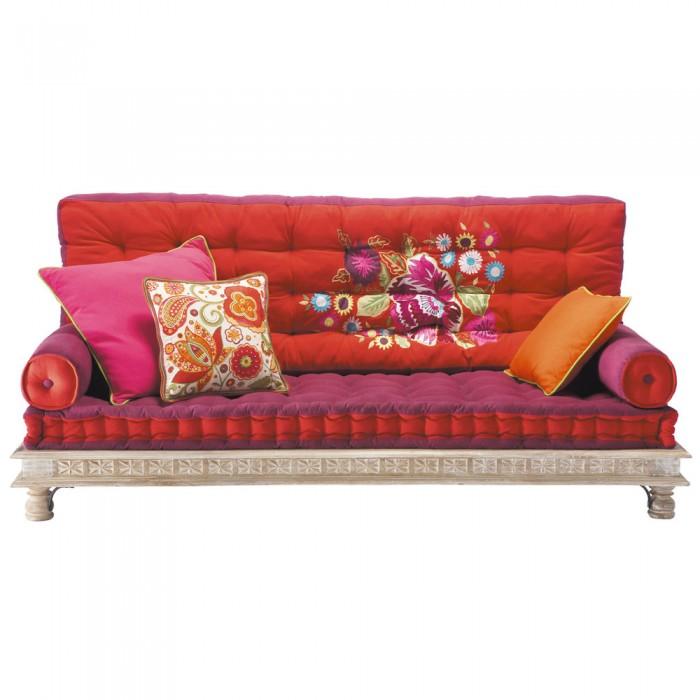 Divano in tessuto colorato 146,40€