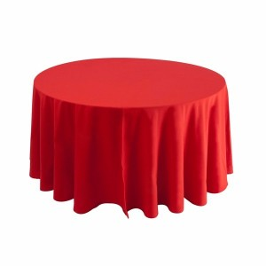 Tovaglia rotonda rossa 310cm 21,96€