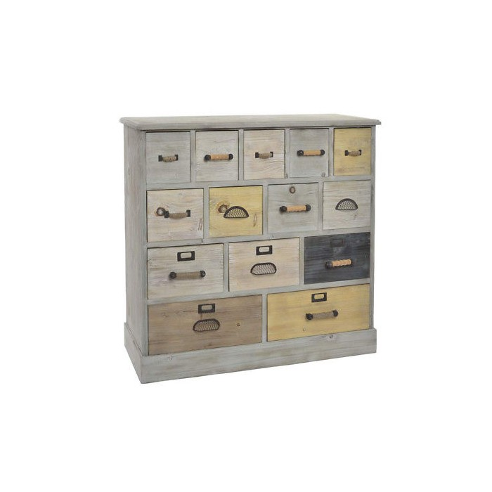 Cassettiera in legno shabby 85,40€