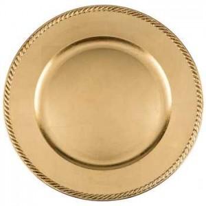 Sottopiatto oro D-34 7,32€