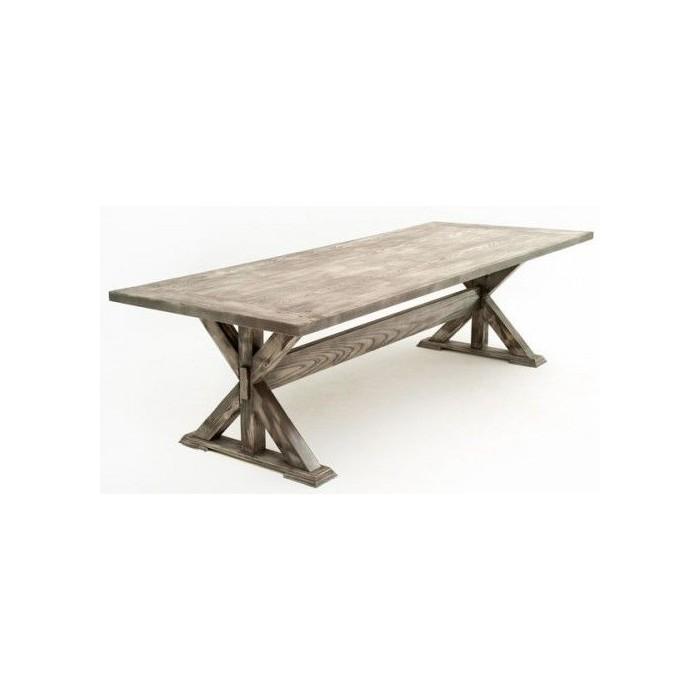 Tavolo legno naturale grigio