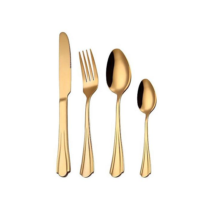 Posate oro stile romantico 1,46€
