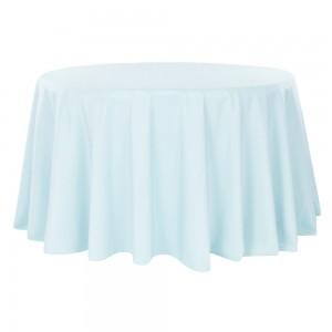 Tovaglia azzurro polvere rotonda 310cm 18,30€