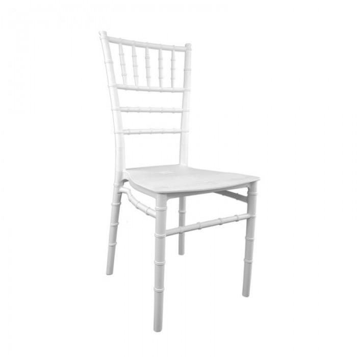 sedia chiavarina bianca plastica 4,88€