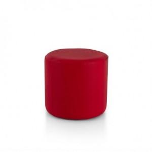 Pouf rotondo rosso 9,76€