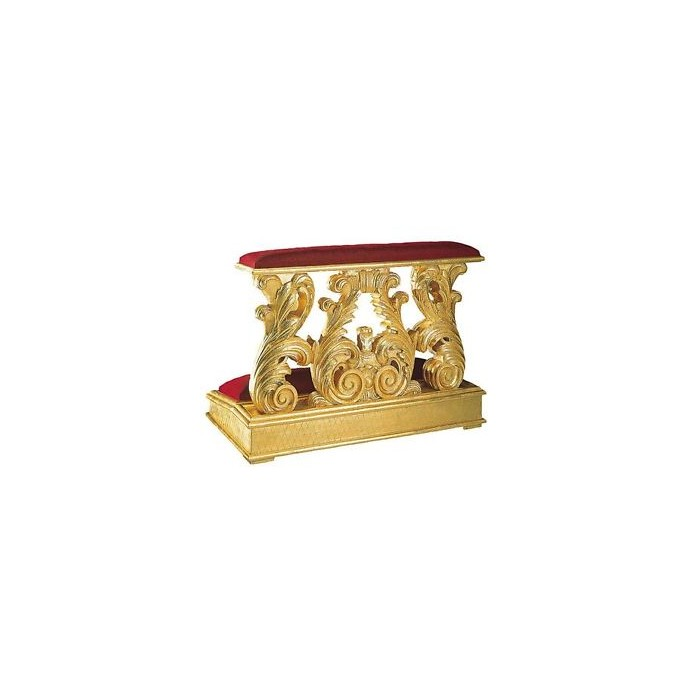 Inginocchiatoio barocco oro 170,80€