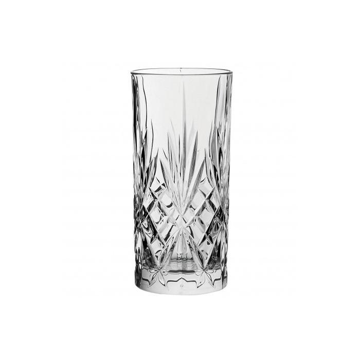 Bicchiere in vetro alto provenzale cl45 0,79€