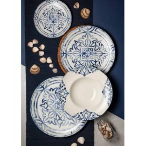 Piattino pane linea sevilla in porcellana decorato a mano d-16 2,44€