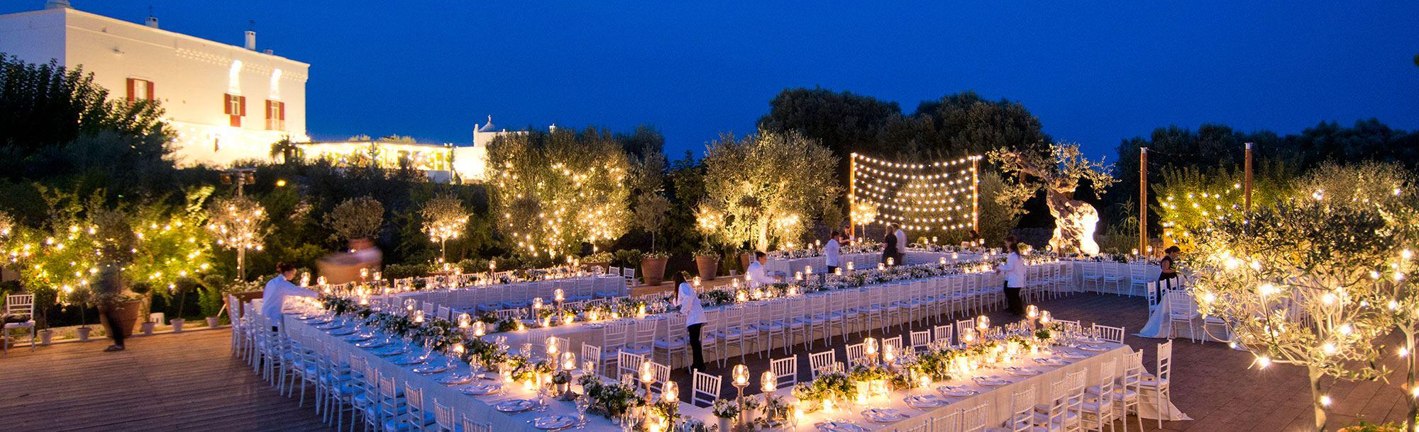 Il servizio esclusivo per il noleggio di attrezzature da catering e allestimenti per matrimoni a Napoli